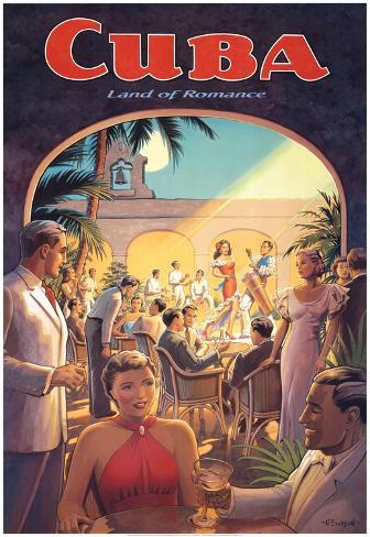 Cuba, Land of Romance Art Print