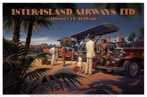 Inter-Island Airways Art Print