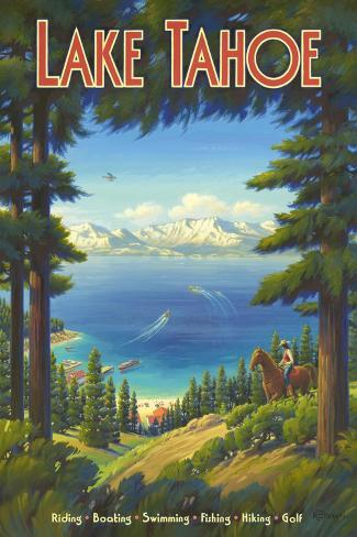 Lake Tahoe Wall Decal