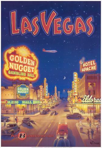 Las Vegas, Nevada Art Print