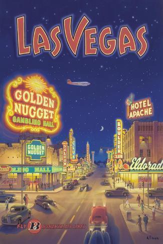 Las Vegas, Nevada Adesivo de parede