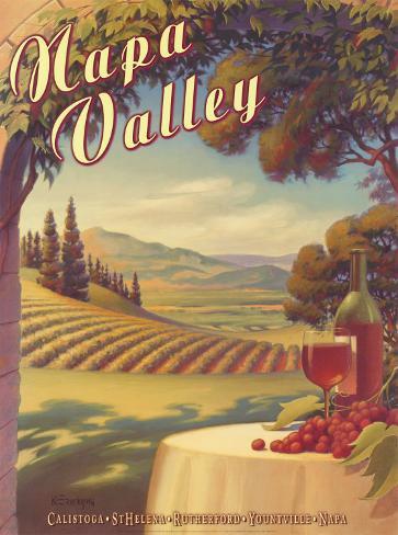 Napa Valley Art Print