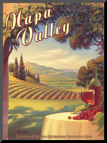Napa Valley Mounted Print