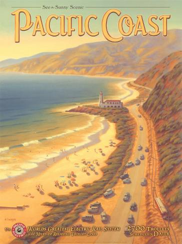 Pacific Coast Art Print