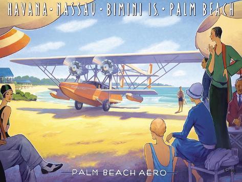 Palm Beach Aero Adesivo de parede