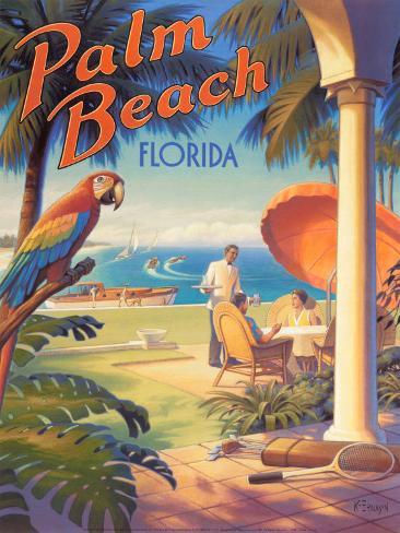 Palm Beach, Florida Art Print