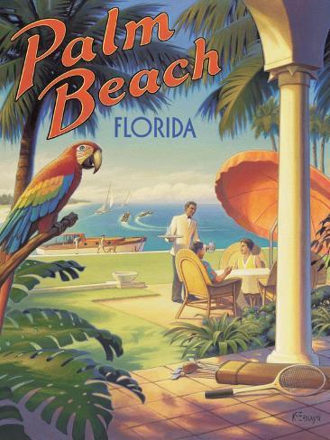 Palm Beach, Florida Adesivo de parede