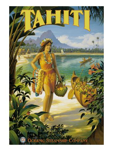 Tahiti Giclee Print