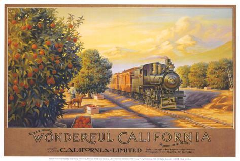 Wonderful California Art Print