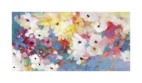 Blooming Flowers Giclee Print