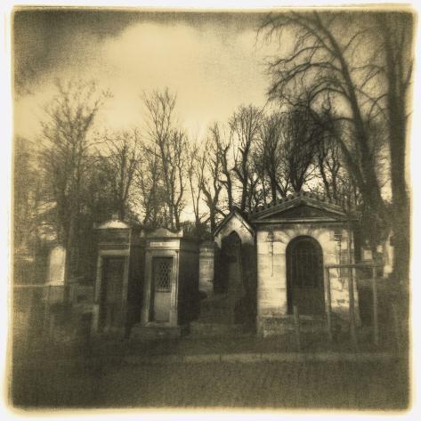 Cimetiere du Pere-Lachaise, Paris Photographic Print