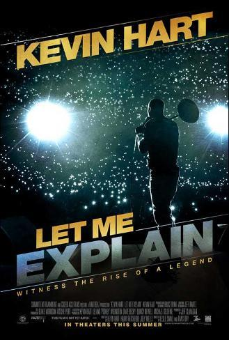Kevin Hart: Let Me Explain Movie Poster Poster