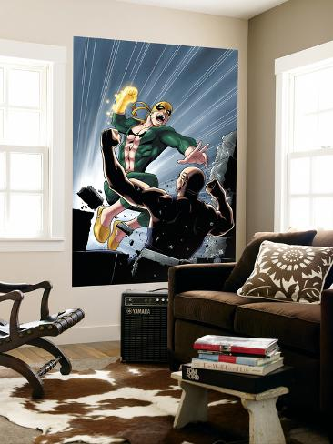 Iron Fist No.6 Cover: Iron Fist Wall Mural