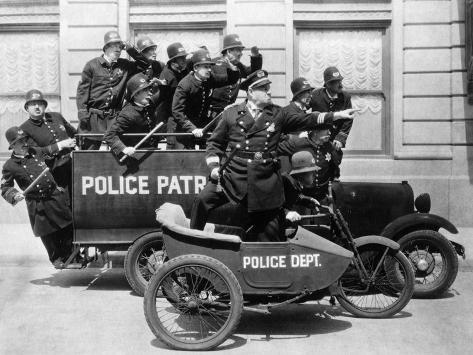 Keystone Cops: Misc Titles, 1944 Photographic Print
