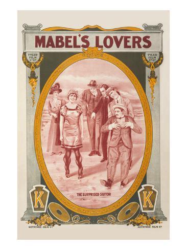 Mabel's Lovers Art Print
