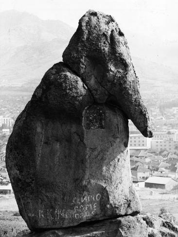 Macedonian Stone Photographic Print