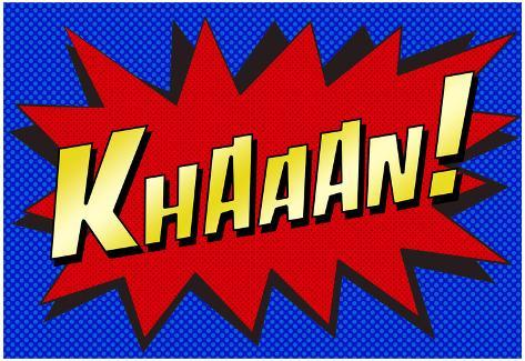 Khaaan! Pop-Art Poster