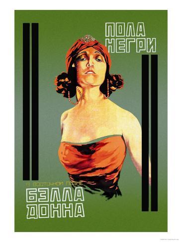 Bella Donna I Premium Giclee Print