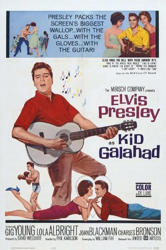 Kid Galahad, 1962, Directed by Phil Karlson Giclee Print