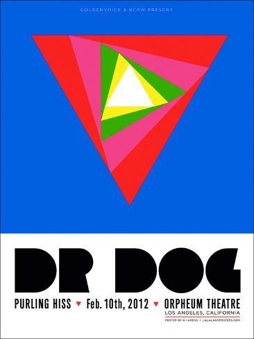 Dr. Dog at the Orpheum Theatre Art Print