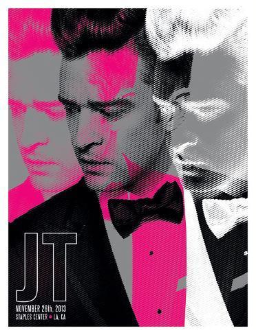 Justin Timberlake - Staples Center Art Print