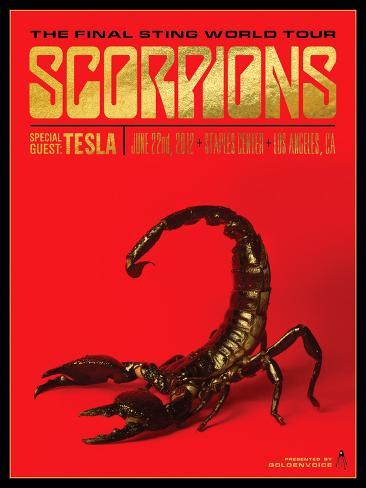 Scorpions Prints By Kii Arens Allposters Co Uk