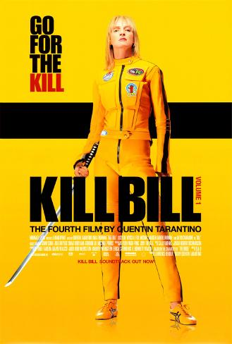 Kill Bill Vol. 1 - Danish Style Poster