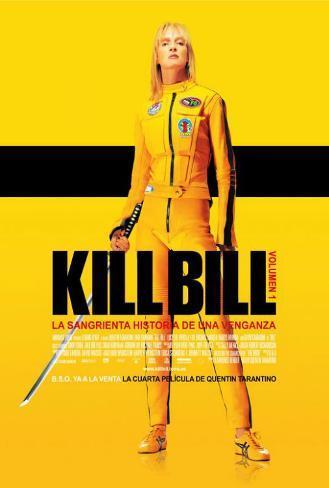 Kill Bill Vol. 1 - Spanish Style Poster