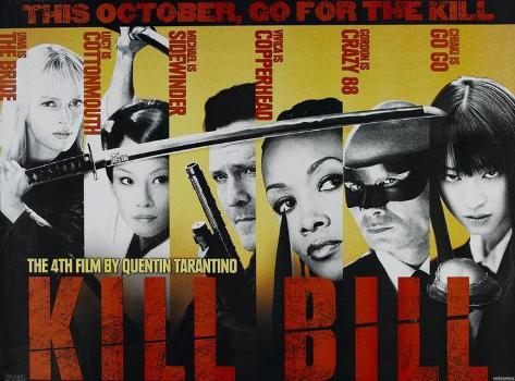 Kill Bill Vol. 1 Masterprint
