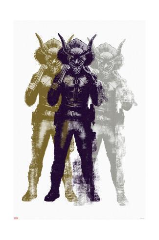 Killmonger Art Print