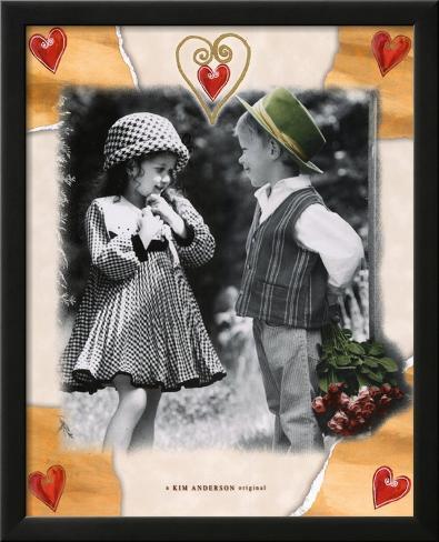 My Valentine Lamina Framed Art Print