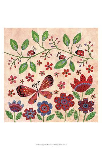 Garden Day Art Print