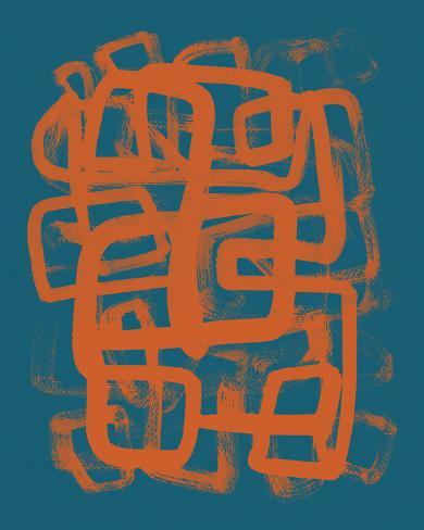 Random II - Neon Giclee Print