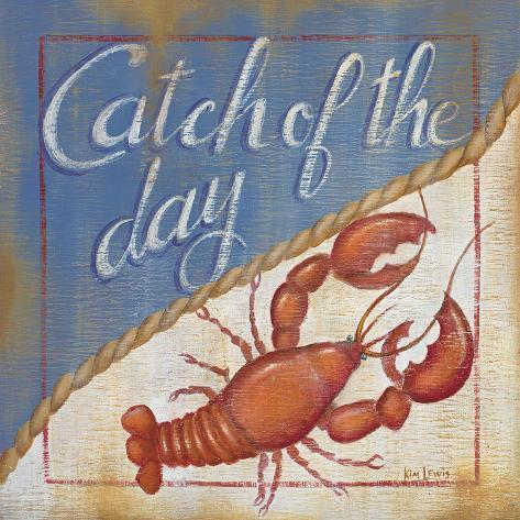 Catch of the Day Art Print