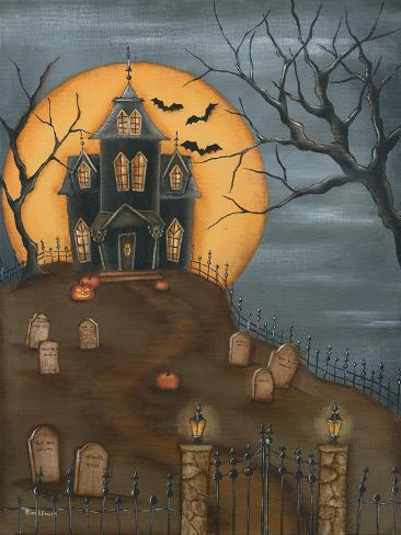 Haunted House Premium Giclee Print