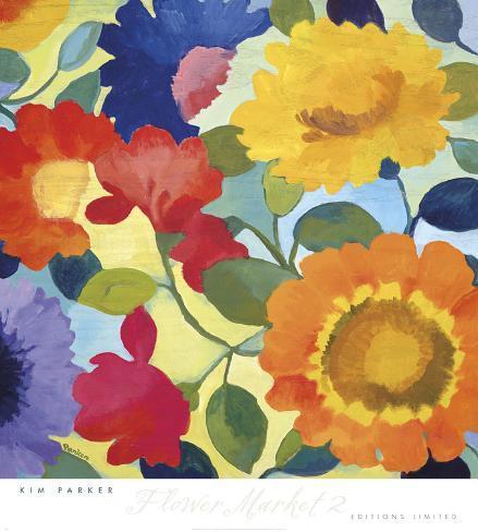 Flower Market II Art Print