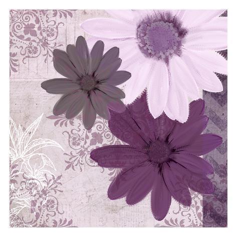 Purple Bloom 3 Art Print