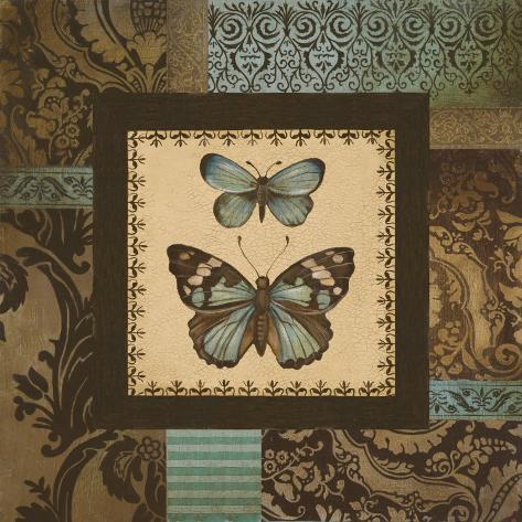 Butterfly Garden II Art Print