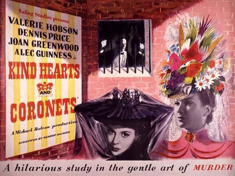 Kind Hearts and Coronets Art Print