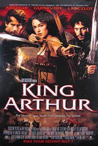 King Arthur Double-sided poster