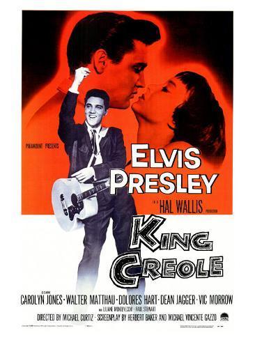 King Creole, 1958 Art Print