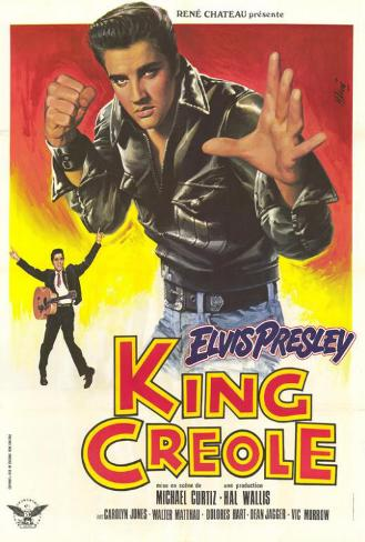 King Creole - French Style Poster