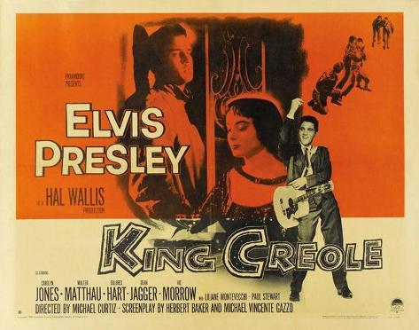 King Creole -  Style Poster