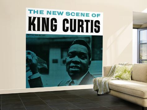 King Curtis - The New Scene of King Curtis Wall Mural – Large