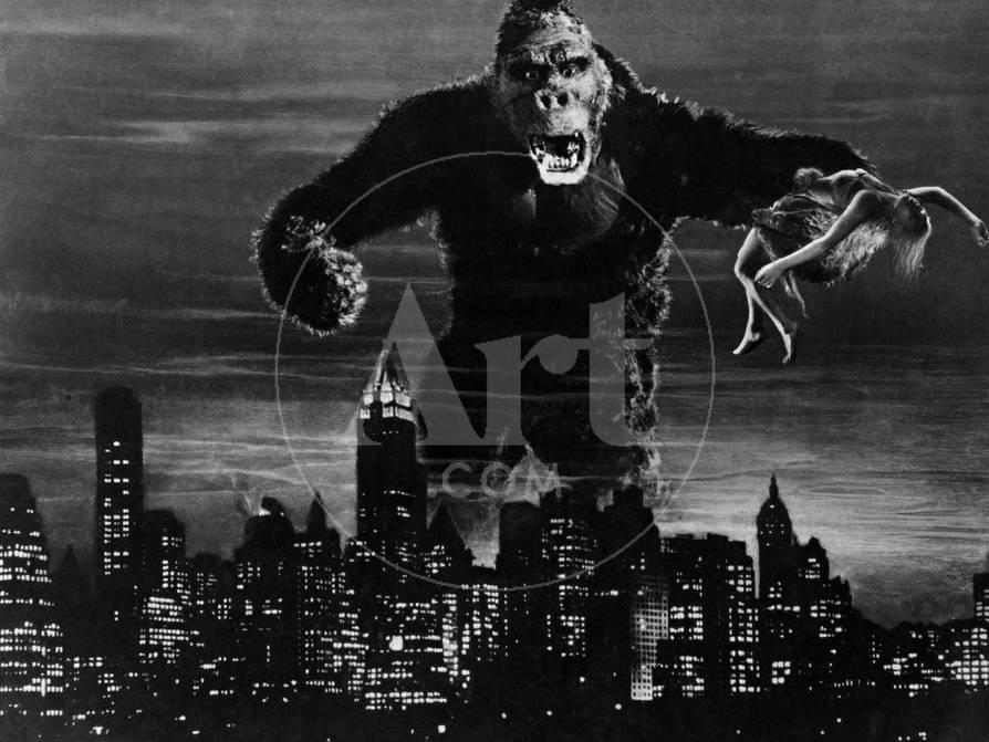 King Kong 1933 Lámina fotográfica en AllPosters.es