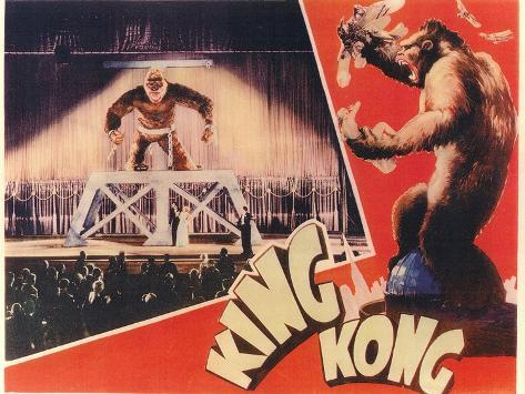 King Kong, 1933 Art Print