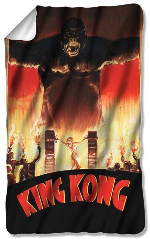 King Kong - At The Gates Fleece Blanket Fleece Blanket