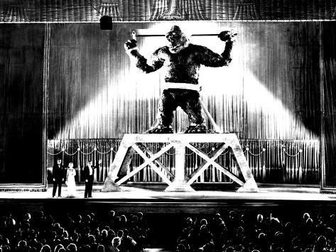 King Kong, Bruce Cabot, Fay Wray, Robert Armstrong, King Kong, 1933 Photo