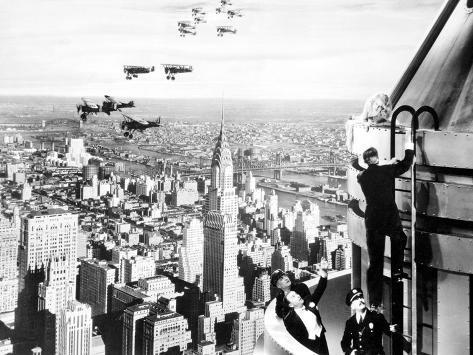King Kong, Fay Wray, 1933 写真