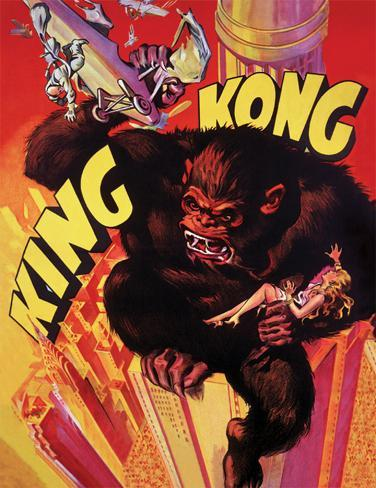 King Kong - Grab Masterprint